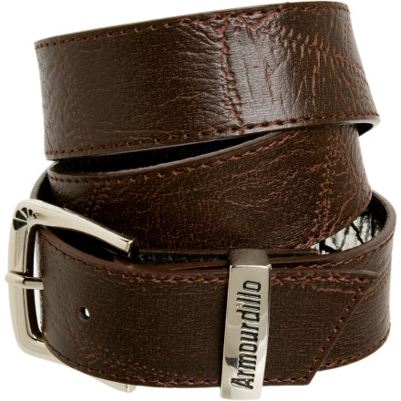 Slip on the Armourdillo Storm Belt if you take pride in how you look and want to prevent your bros from depantsing you again in public. Armoudillo gave the Storm a sweet clean look and made sure to make this polished belt out of full grain leather for durability and style. - $21.95