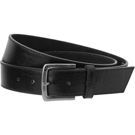 Contrary to what the name might suggest, wearing the Armourdillo Staple Belt does not actually involve puncturing your waistline with staples. - $19.95