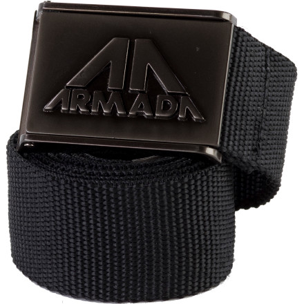 Ski The Armada Timber Belt won't necessarily help you fell an oak tree, but, then again, if your pants are down around your ankles, that's going to seriously hamper your ax-wielding aptitude. - $11.17