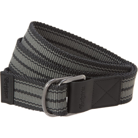 The Brixton Shuffle Belt is the only thing you can count on when the apocalypse finally comes. Sure, fire may be raining from the sky and evil robots are systematically destroying humanitybut your pants aren't going ANYWHERE. - $16.96