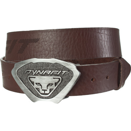 Fitness After the bike is stowed or running shoes set aside and the shower is done, you have the option to don the street clothes and never show anyone what you're truly passionate about. Dynafit has a better idea: accessorize your daily threads with its high-grade leather and steel buckle Men's Belt. - $64.95