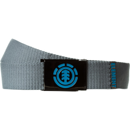 Skateboard The Element Anti Matter Belt may not give you the power to control all the elements, but it will give you the power to keep your pants up. That is, of course, only if you wish to keep your pants on. - $12.76