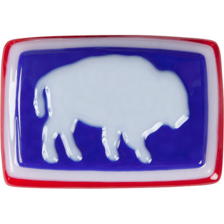 The buffalo is a symbol of the west. A beastly and beautiful specimen of survival and nature. The Mountain Khakis Glass Bison Belt Buckle is a hand-made work of art designed to westernize your look and immortalize a grand symbol of the American west. - $54.90
