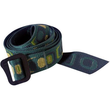 All outdoor sports become far more difficult when your pants fall down. Even if you're in town, it can cause a seriously embarrassing scene. Hold your trousers up with the super-strong Patagonia Friction Belt, and enjoy your day with confidence, knowing your pants are secure. With a hard anodized steel buckle, you know your pants aren't going anywhere. - $25.00