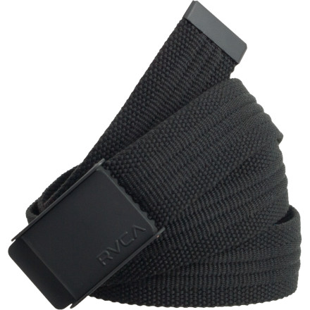 RVCA made the Bray Belt to help your pants fight the annoying pull of Earth's gravitational forces. Polyester material means these belt will last forever and won't look all scuffed up, unlike that class leather belt your mom is always bugging you to wear. - $15.37