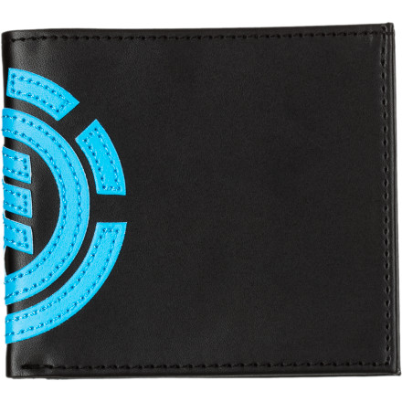 Entertainment It's a lost art, pulling paper from the Element Loyalist Bi-Fold Wallet and exchange one physical thing for another. - $20.76
