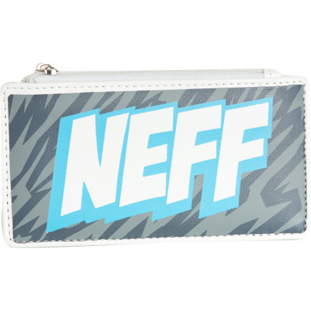 Entertainment Since your boom box got sand in it more than twenty years ago, the next best thing is unzipping the Neff Blaster Wallet and paying for some tunes with your debit card at the bar's digital jukebox. - $6.98