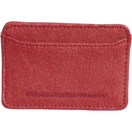 Entertainment You don't want to go out with a huge, bulky wallet stretching out your back pocket and making your ass feel all lopsided. The WeSC Wesley Wallet keeps your essentials together in streamlined style, so you can ditch the butt-bump. - $11.67