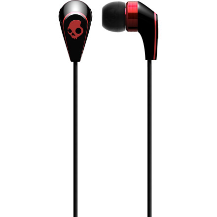 Entertainment Never go without tunes with the Skullcandy 50/50 Ear Buds. Three different size silicone tips ensure you get the right fit for your ears so you can wear them comfortably all day, and the Mic 3 in-line mic allows you to take phone calls without even having to take your phone out of your pocket. - $34.97