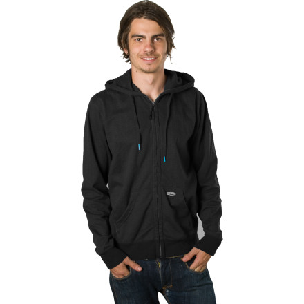Surf The Billabong Balance Full-Zip Hoody will give you the power to not fall over whilst you are extremely intoxicated. Well, that's not true. But it will double as a towel should shot number thirteen miss your mouth and splash on the pretty(') lady next to you. - $44.51