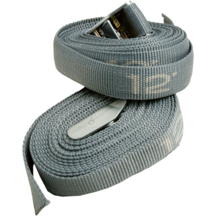 Kayak and Canoe Keep your kayak from flying off your car or your gear from falling out of the raft with this multi-pack of Aire Heavy-Duty Cam Straps. This hand set of durable polypropylene webbing straps gives you plenty of means of securing your stuff, and durably cams make it easy to cinch your gear in place. - $13.95