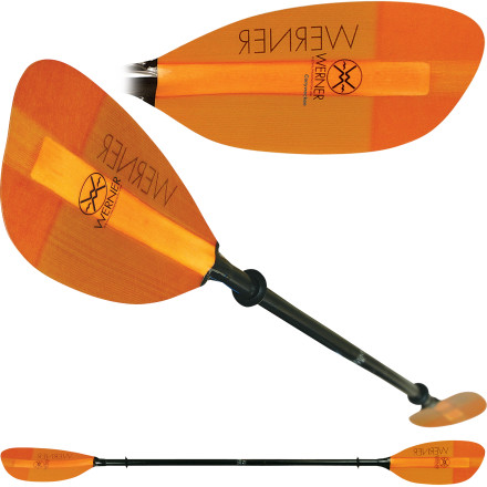Kayak and Canoe Inspired by a tidal whirlpool off the Scottish coast, the name may be difficult to decipher, but how the Werner Corryvrecken 2-Piece Paddle will help propel you isn't. Whether you're headed out to sea in search of other natural wonders or mixing your touring between large lakes and swift rivers, the Corryvrecken's high-angle stroke design can help you get there. Fast. - $274.95