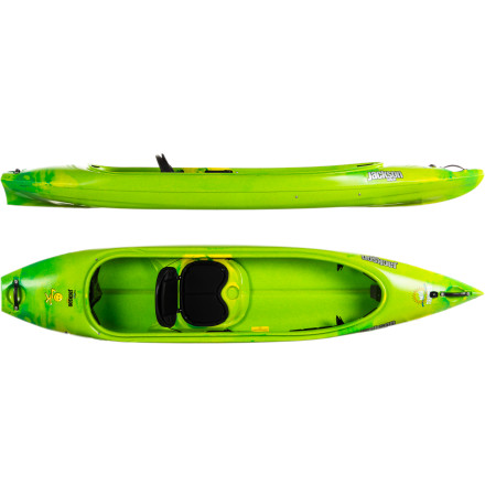 Kayak and Canoe You want your kid's first experience on the water to be as enjoyable as possible, and the Jackson Kayak Mini Tripper Kayak is just the boat to put a smile on your child's face. This boat is easy to climb into and easy to paddle, and the semi-open cockpit design makes it supremely safe and stable. Jackson Kayak kept all the features simple and utilitarian, so this boat is comfortable enough for the true greenhorns and durable enough to handle your more rambunctious paddlers. - $449.00