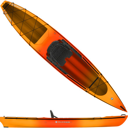 Kayak and Canoe Whether your ticket to enjoying nature is a full cooler, a four-legged friend, a fish-hunting pole, or a long-zoom lens, its valid on the Wilderness Systems Commander 140 Kayak. In addition to plentiful cargo room, this hybrid sit-on-top, sit-inside, stand-up kayak offers a molded and elevated captains seat for better posture and less fatigue while paddling. - $746.85