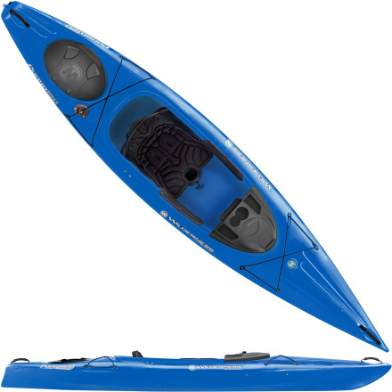 Kayak and Canoe A best-seller for recreational boaters, the Wilderness Systems Pungo 120 Kayak instills confidence and keeps you comfortable on the lake or the pond. Seasoned paddlers will appreciate the luxury of the cushioned Phase 3 seating, while burgeoning boaters will find that they're able to progress their skills quickly thanks to the stable and predictable hull shape. As the middle size of the Pungo series of kayaks, this boat is ideal for smaller boaters who need room to move or medium-sized boaters who favor boat maneuverability. - $849.00