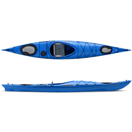Kayak and Canoe Like the traditional ocean boats crafted by the native people of the earth's arctic region, the Liquidlogic Kayaks Inuit 13.5 Kayak tracks straight and true, paddles efficiently, and holds all the gear you need for your adventure. Of course Liquidlogic took some time to modernize the design with ultra-comfortable seating and a buttery-smooth hull design. Glide this boat out onto open waters and take on that overnight trip you've always dreamed of. - $1,068.95