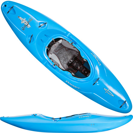 Kayak and Canoe With the new tweaks Dagger made to the Mamba Creeker Kayak, you're ready to put-in and power down the river. Thanks to its increased length and volume, this powerhouse accommodates a wider range of paddler sizes, while the extra volume around the knees offers killer comfort when you're in an aggressive position. It also features the Contour Ergo Creeker outfitting system which allows for easy seat adjustments, an ergonomic leg lifter, and a reliable, reinforced step-out wall for improved safety. - $1,049.00