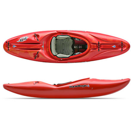 Kayak and Canoe After all the whitewater tomfoolery and playboat surfing, the heart of kayaking still lies in the experience of paddling rivers. Get back to the soul sessions with the Liquid Logic Jefe Grande Kayak, now made in a larger (grande) size. Whether you're into big-volume monsters or the local, winding waters behind your house this boat has the creek-style characteristics to take it all on. Larger chargers can now take on the rapids in a stable, predictable ride that'll plaster a grin on even the most experienced, salty faces. - $1,098.95