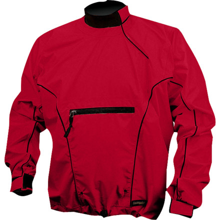 Kayak and Canoe Pull on the Stohlquist Torrent Long-Sleeve Paddle Jacket and stay bone dry in your boat or raft. Fully waterproof breathable material breathes so you feel comfortable (not clammy) underneath, and the inside of this material features a smooth lining that glides over your skin instead of sticking. - $129.90