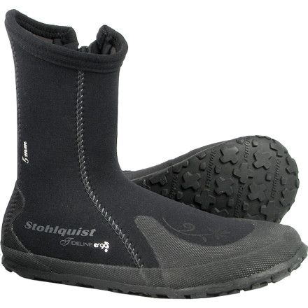 Kayak and Canoe Slide your foot into the comfort and protection of the Stohlquist Women's Tideline 5mm Neoprene Boot before you slip on your spray skirt and begin an all-day paddle down a class II river. Its reliable warmth and ergonomic design ensure you won't have to pull out before you hit the fun class III sections. - $44.95