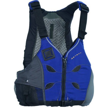Kayak and Canoe Much like juice enhances your brain and body functions, the Astral Buoyancy V-Eight Personal Flotation Device enhances your warm-weather paddling experience. Airescape technology cools your core in hot, humid climates, even if your boat has a high seatback. - $104.95