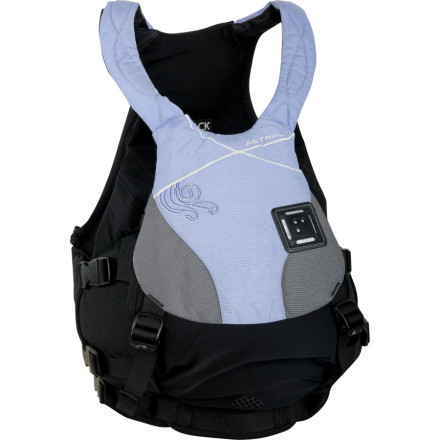 Kayak and Canoe For female paddlers, relying on mens PFDs limits your ability to get the ideal fit, which is why we offer the womens Bella Personal Flotation Device from Astral Buoyancy. This PFD has an adjustable torso height and seven-inch adjustable back band to give you the best fit and keep you afloat when you end up trading your comfortable kayak seat for a dip in rough water. - $82.48
