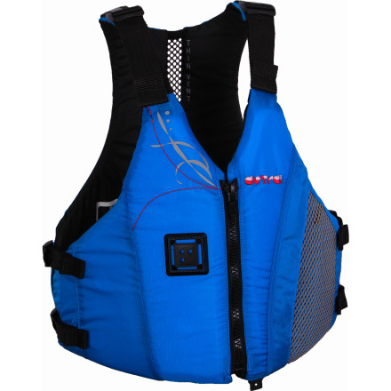 Kayak and Canoe The Astral Buoyancy Women's Linda Personal Flotation Device is streamlined and comfortable so you can paddle without feeling like you have a huge block of foam strapped to your torso. - $89.95