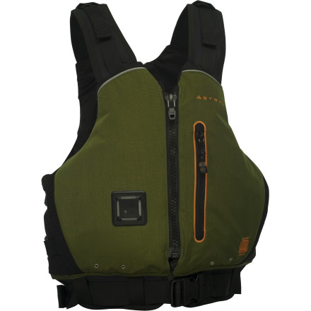 Kayak and Canoe The Astral Buoyancy Norge Personal Flotation Device combines on-water protection with comfort, and throws in a dash of sustainability, too. Organically grown and sustainably harvested Kapok in the front keeps you afloat in an accident, while also conforming to your body like no other material. - $129.95