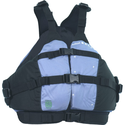 Kayak and Canoe Kids hate most PFDs because the jackets usually end up jammed up around their necks and into their faces. That's why Astral Buoyancy designed its Kids Otter Personal Flotation Device with a comfortable short torso, deep V-neck, and adjustable shoulder straps to ensure a comfortable, complaint-free fit. - $104.95