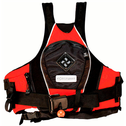 Kayak and Canoe The Extrasport Pro Creeker Personal Flotation Device uses an easy-adjust system and gliding foam panels for un-restricted movement on the water, and in case you or someone else needs a hand, this jacket also has a Swiftwater rescuer system. The detachable US Coast Guard-approved belt ends up being a priceless addition to this jacket when you find yourself in a dangerous position. The GlideFit layered-foam panels use different thicknesses to boost comfort while the RetroGlide system lets you adjust the fit from the side panels instead of hindering the shoulder straps with rigid buckles. This type V jacket works for guides and recreational paddlers. - $234.95