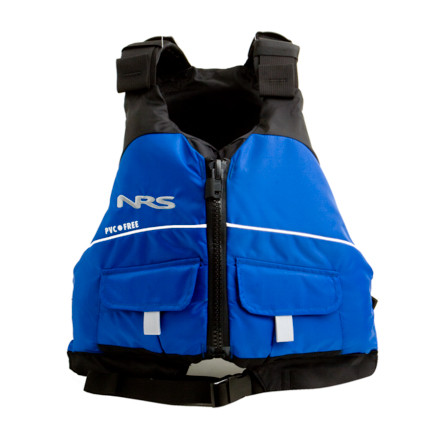 Kayak and Canoe Keep your kid safe on the rivers and lakes with the NRS Youth Vista Personal Flotation Device. Seven adjustment points provide a comfortable, secure fit while your kid kayaks or hangs out on the river raft. - $59.95