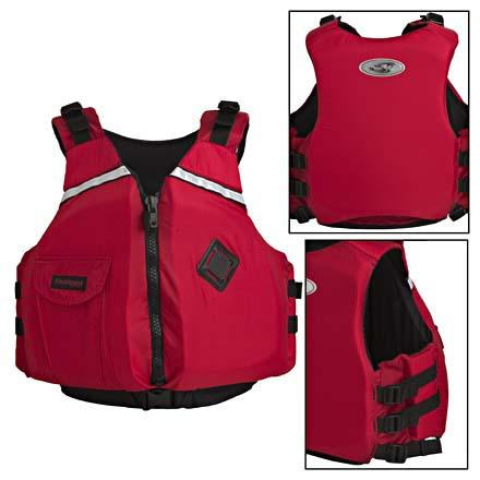Kayak and Canoe When it's time to bring your little ones out on the water, keep them safe with the Stohlquist eSCAPE Youth Personal Flotation Device. Built with the same features and design as the adult model, the eSCAPE Youth Personal Flotation Device includes a chest pocket where your kid can keep their lip balm and snacks. Adjustable shoulder straps and three side adjustment straps assure the Stohlquist eSCAPE will fit your young paddler for seasons to come. - $49.90
