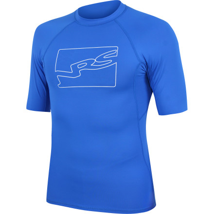 Kayak and Canoe The NRS Men's Hydrosilk Short-Sleeve Rash Guard Top protects against chafing, chills, and sunburn during a long day in a raft, kayak, or paddleboard. A combination of nylon and spandex gives the Hydrosilk Rash Guard Top a close, athletic fit that layers easily under your PFD or wetsuit. You can count on the UPF 50-rated protection to shelter your shoulders from the sun. This top increases insulation if you go into the drink and dries quickly when you get back in your boat. - $39.95