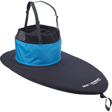 Kayak and Canoe With a suspended tunnel crafted primarily of nylon, the Sea To Summit Neon Spray Skirt suits warm conditions and recreational, touring, and sea paddlers who dislike the restrictive feel of a full neoprene waist. - $118.92