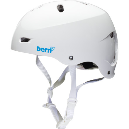 Kayak and Canoe Contrary to popular belief, smashing your skull on the river bottom isn't really part of kayaking. That's what helmets are for. The Bern Women's Brighton Helmet is made with a tough ABS shell, breathable Brock Foam, and soft, comfortable EVA, so you can bash your head all day in comfort and style. - $41.97