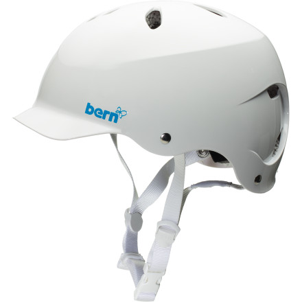 Kayak and Canoe Get out there and paddle in comfort and safety with the stylish Bern Women's Lenox Helmet. Bern made the Lenox with ABS ThinShell to keep the weight down but still protect against multiple low-impact hits. - $41.97
