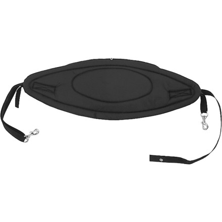 Kayak and Canoe Give your back a break on longer paddles with the Harmony Standard Sit-On-Top Backband. The Backband fastens into your existing deck rigging with corrosion-resistant hardware. Treat your back to the luxurious  1/2-inch padded closed-cell foam. - $29.97
