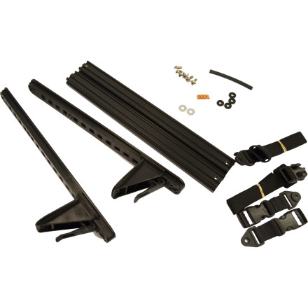 Kayak and Canoe The Harmony Supplemental Kit for Wilderness Systems Recreational Tandem Kayaks provides the necessary additional parts to install your Wilderness Systems Roto Kayak Kit or your Wilderness Systems & Perception Rudder Ready Kayak Kit onto a recreational tandem kayak. Includes the extension straps and foot braces that allow you to control the rudder when paddling solo or in tandem. - $74.95
