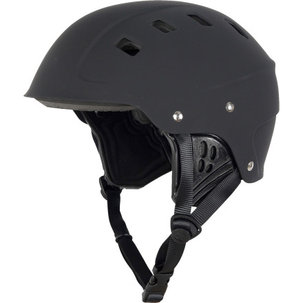 Kayak and Canoe Ultimately, the most valuable piece of gear for a true paddle sports enthusiast is his or her head. Protect yours with the NRS Chaos Side Cut Helmet. Whether you're a kayaker or rafter, this high-value helmet lets you hit the whitewater with safety as a top priority. - $41.97