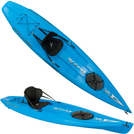 Kayak and Canoe Whether you sit or stand, you're in for a smooth ride with the Ocean Kayak Nalu 12.5 Stand-Up Paddleboard. Maneuver down calm rivers, island hop, or explore coastal shorelines. From novices to seasoned vets, this rigid recreational board puts long paddles comfortably in reach and provides storage for all your essentials. Molded-in footwells, a slightly rockered bow, and in-mold rear fins offer stability when you're standing, and a Comfort Tech seat takes care of your back when you decide to sit down for the trip home. - $749.95