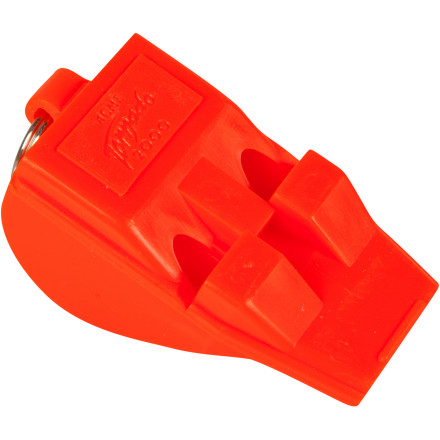 Kayak and Canoe Use the Harmony Acme Tornado T2000 Whistle to signal for help or get attention when you're boating, biking, or backpacking. A simple blow on this compact whistle produces a loud, powerful sound that travels over long distances with clarity. An emergency whistle is necessary for safety on the water, but you can also carry the T2000 for peace-of-mind when you go for a hike or run in the woods. - $5.95
