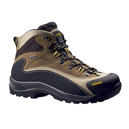 Camp and Hike The Asolo FSN 95 GTX boot has evolved from Asolo's philosophy of great design. These excellent trekking boots are lightweight and versatileperfect for fast backpacking trips. The Gore-Tex inner liner provides breathable waterproofing to keep your tootsies dry and comfortable no matter what conditions you encounter out there. Asolo specializes in mountaineering and hiking shoes, and the FSN 95 is the perfect example of their attention to detail and performance. - $136.47