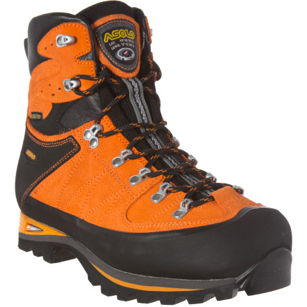Camp and Hike The Asolo Khumbu GV Backpacking Boot offers trail-proven Gore-Tex waterproof Performance Comfort and a durable suede upper ideal for long backpacking trips when you're carrying medium to heavy loads and support and comfort is a must. - $227.96