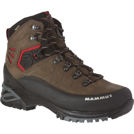 Camp and Hike No trail is too rocky, even for those with wobbly ankles, when you tackle it wearing the Mammut Men's Pacific Crest GTX Boot. This lightweight but super-stable boot not only lets you traverse variable terrain with confidence, but it keeps your foot dry in wet weather thanks to the Gore-Tex waterproof breathable insert. - $199.16