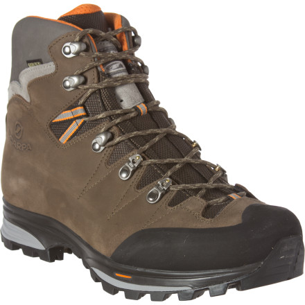 Camp and Hike Backpackers who seek rough terrain and weight-reducing gear should lace up the Scarpa Zanskar GTX Boot before setting out on the next great adventure. - $278.95