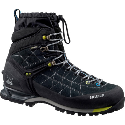 Camp and Hike The Salewa Men's Snow Trainer Insulated GTX Boot is specifically designed to perform on winter hiking and snowshoeing excursions. The integrated gaiter seal around your ankles to keep snow out while the Insulated Gore-Tex Comfort liner ensures your foot stays dry, warm, and comfortable. With the perfect heel retention provided by the 3F Fit System, you can say farewell to painful blisters. - $278.95