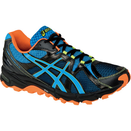 Fitness Even though it's the new guy, the Asics Men's GEL Scout Running Shoe utilizes the same trusted GEL cushioning technology and ultralight midsole material that made Asics' road shoes so popular. Trail-specific features like an aggressively lugged sole, gusseted tongue, and rock protection plate make this the perfect shoe for your daily run through the park or long treks deep into the woods. This is the ideal shoe for trail runners with normal to medium-high arches and provides enough support for a wide range of pronation needs. - $119.95