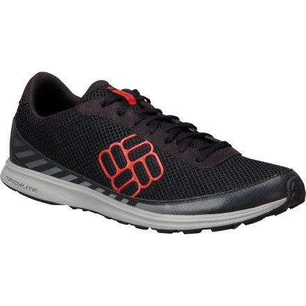 Fitness The Columbia Ravenous Lite Trail Running Shoe is paired down for lightweight comfort and a minimalist feel. Get these nearly weightless shoes on your feet when you want a close-to-barefoot design but you don't want to feel the rocks and sticks jabbing the bottoms of your feet. - $79.95
