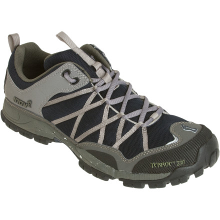 Fitness Slide on a pair of the Inov-8 Men's Terroc 330 Trail Running Shoes and head out to enjoy a long run or walk in the mountains or along a dusty trail. Ideal for recreational trail runners, the Terroc shoes have lateral and medial posting that provides torsional support on uneven terrain. - $87.96