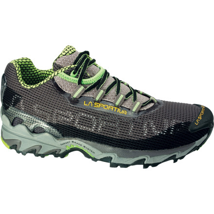 Fitness La Sportiva outfitted the Mens Wildcat Trail Running Shoe with its ultra-sticky FriXion sole to ensure traction in any conditions. Whether youre in steep, loose dirt or traversing a rock slab, these La Sportiva shoes keep you upright and going strong. An AirMesh upper ensures plenty of ventilation in hot summer heat as well, so you dont have to stress over nasty, sweaty, blister-prone feet. - $93.46